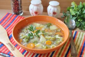 Гречневый суп с брокколи - фото шаг 8