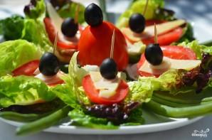 Салат-сендвич - фото шаг 6
