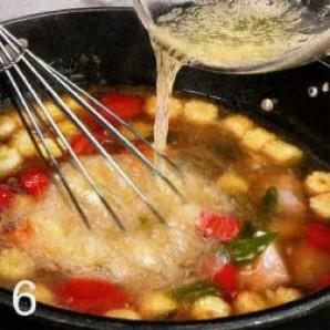 Суп куриный с кукурузой  - фото шаг 6