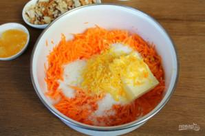Морковный пирог без яиц - фото шаг 4
