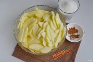"""Карамельный яблочный пирог """"Роза"""" - фото шаг 3"""