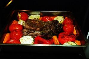 Жаркое из баранины в духовке - фото шаг 6