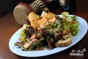 Салат с жареными баклажанами - фото шаг 13