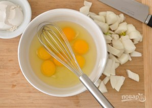 Картофельные вафли с беконом - фото шаг 2