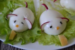 """Фаршированные яйца """"Мышки"""" - фото шаг 8"""