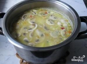 Гороховый суп с томатной пастой - фото шаг 7