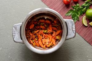 Мексиканский суп с кетчупом - фото шаг 3
