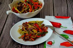 Говядина с огурцом по-китайски - фото шаг 12