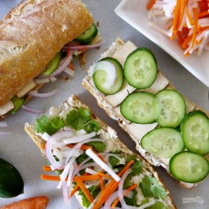 "Сэндвич ""Бан Ми"" - фото шаг 5"