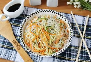 Китайский салат с крахмальной лапшой - фото шаг 11