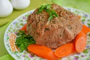 Тушеная говядина на абрикосовом соке - фото шаг 7