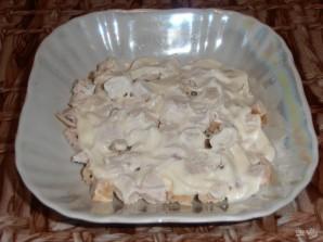 Салат из курицы и ананаса - фото шаг 3