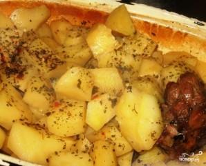 Гусь с картошкой - фото шаг 6
