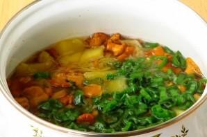 Суп грибной из лисичек - фото шаг 7