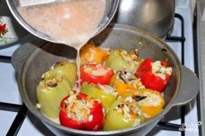 Перец, фаршированный рисом и овощами - фото шаг 9