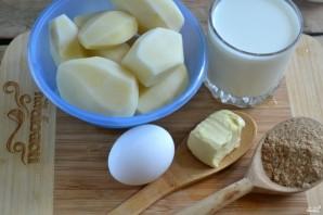 Картофель под белым соусом - фото шаг 1