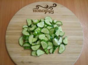 Салат из огурцов на зиму по-корейски - фото шаг 2
