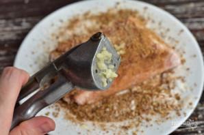 Соленое сало со специями - фото шаг 4