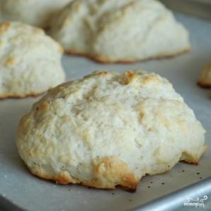 Песочное печенье с ежевикой и взбитыми сливками - фото шаг 8