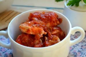 Куриная грудка под соусом в духовке - фото шаг 7