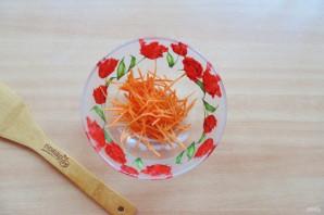 Витаминный салат из морской капусты - фото шаг 2