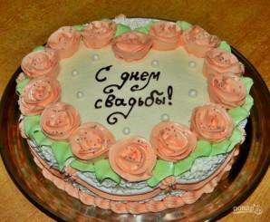 Свадебный торт - фото шаг 10
