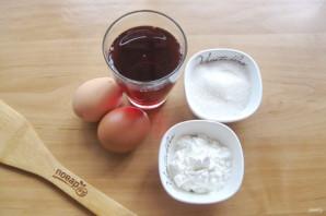 Пудинг из гранатового сока - фото шаг 1