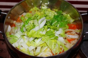 Белый суп с морепродуктами - фото шаг 2