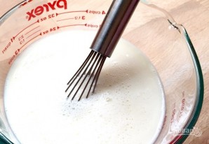 Молочный пудинг с имбирем - фото шаг 8
