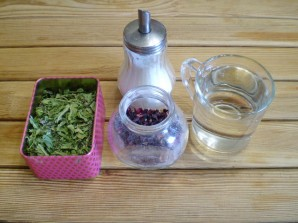 Чай из каркаде и мяты - фото шаг 1