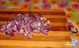 Сырный суп с курицей и грибами - фото шаг 2
