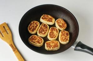 Творожное печенье на сковороде - фото шаг 8