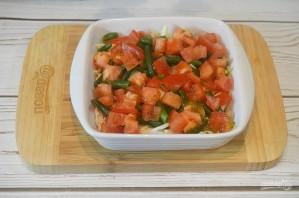 Хек на овощной подушке - фото шаг 5