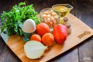 """Турецкий салат """"Пияз"""" - фото шаг 1"""