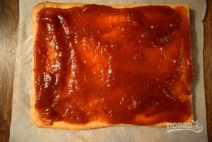 Медовое пирожное с начинкой - фото шаг 12