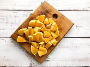 Салат с сельдереем и апельсином - фото шаг 3