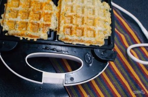 Сырные вафли (ПП завтрак) - фото шаг 3