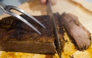 Мясо в фольге в духовке - фото шаг 4