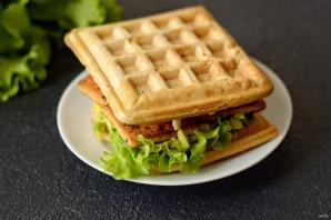 Вафельный сэндвич - фото шаг 10