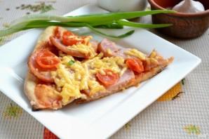Пицца на кефире без дрожжей - фото шаг 11
