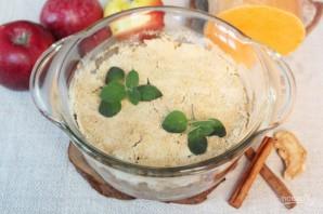 Пряный пудинг из тыквы и яблок - фото шаг 13