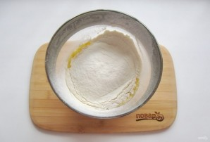 Пирог с творогом и джемом - фото шаг 3