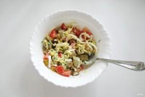 Салат с помидорами и баклажанами - фото шаг 10
