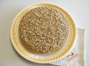 Вафельный торт со сгущенкой - фото шаг 6