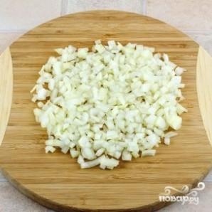 Салат с фасолью и колбасой - фото шаг 4