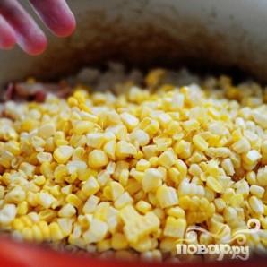 Кукурузный суп с чили - фото шаг 8