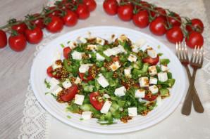 Салат с зелёным болгарским перцем - фото шаг 9