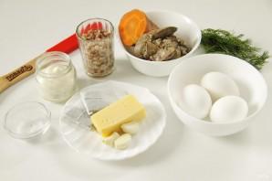Закуска на Новый год Кабана - фото шаг 1