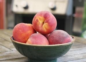Жареные персики на гриле - фото шаг 1
