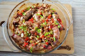 Куриные шейки с картошкой - фото шаг 9